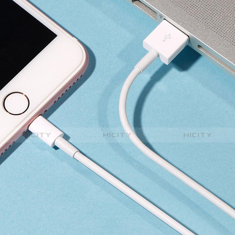 USB Ladekabel Kabel L09 für Apple iPhone 11 Pro Weiß
