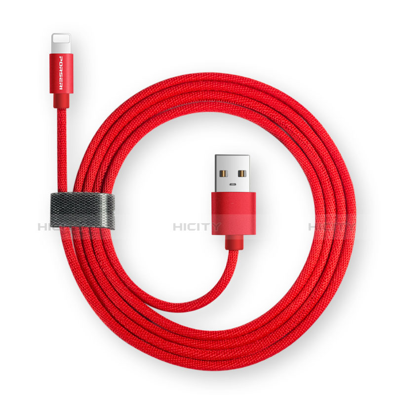 USB Ladekabel Kabel L14 für Apple iPhone 11 Pro Schwarz